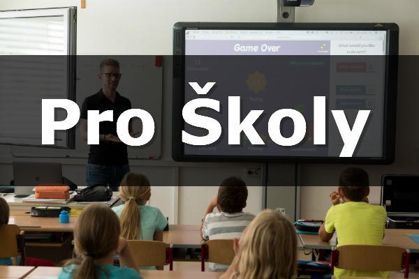 Audiovizuální technika pro školy