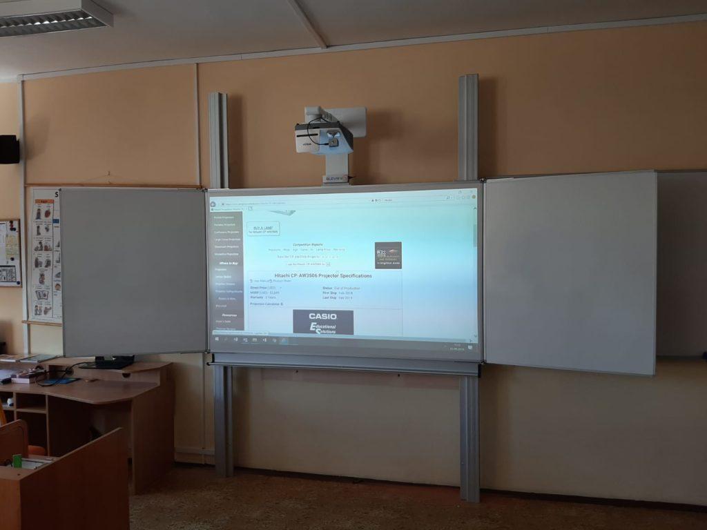 interaktivní tabule ve škole