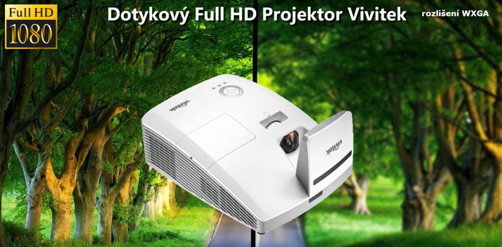 Ultrakrátký Full HD projektor