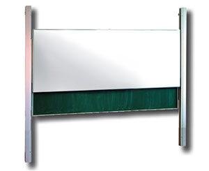 Pylonová bílá tabule