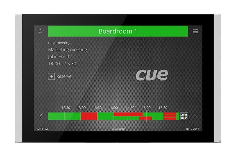 Reservační systém CUE